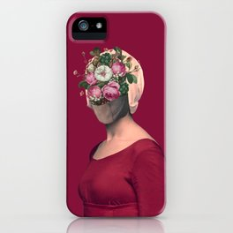 Silent no longer / Handmaid iPhone Case