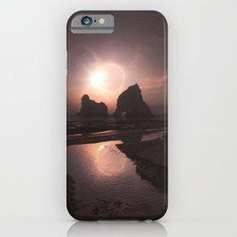 New Zealand Solar Eclipse iPhone Case