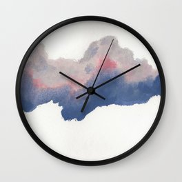 clouds_june Wall Clock