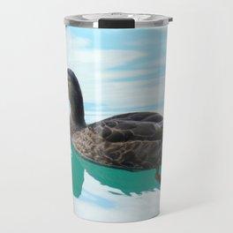 duck and lake Travel Mug