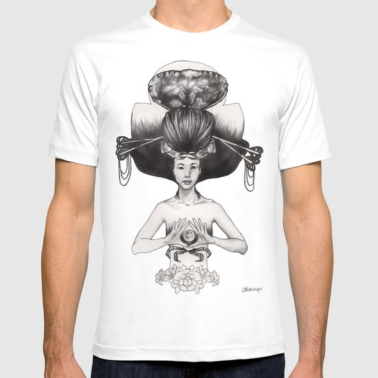 CANCER - Black and White Version T-shirt