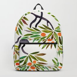 Bonsai Tree – Orange Fruit Backpack