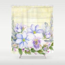 Flowers bouquet 69 Shower Curtain