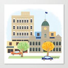 Home town Canvas Print