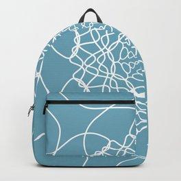 Mandala String Theory of Aqua Backpack