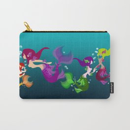 Festive Mermaids Carry-All Pouch