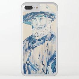 Walt Whitman Clear iPhone Case