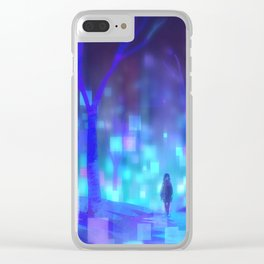 City Nights Clear iPhone Case