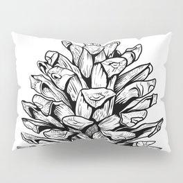 Pine cone illustration Pillow Sham