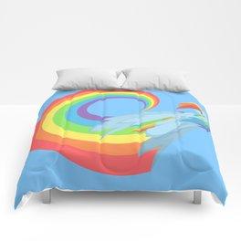 Rainboom Rainbow Dash Comforters