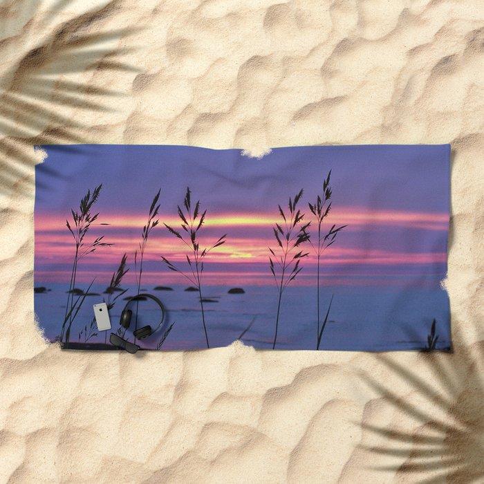Simplicity by the Sea Beach Towel