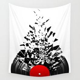 Vinyl shatter Wall Tapestry