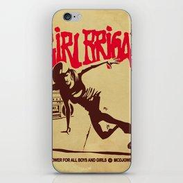 BGIRL BRIGADE iPhone Skin