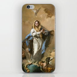 The Immaculate Conception by Giovanni Battista Tiepolo (c 1768) iPhone Skin
