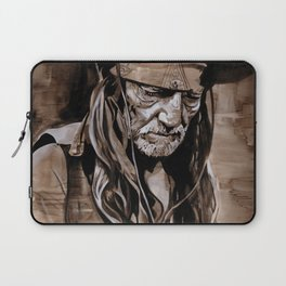 Willie Nelson  Laptop Sleeve