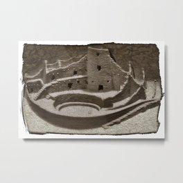 Mesa Verde Cliff Dwellings Metal Print