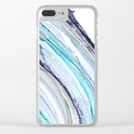 Geode Art Clear iPhone Case
