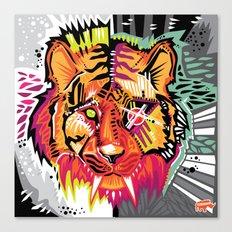 Eye of the Tigah Canvas Print