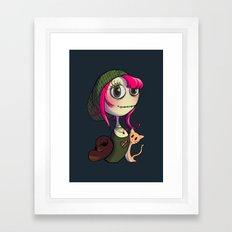 Animal Lover Framed Art Print