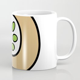 Ceramic Vessel with Beans Coffee Mug