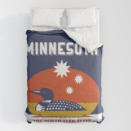 Minnesota - Redesigning The States Series Comforters
