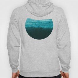 Aqua Watercolor Tide Hoody