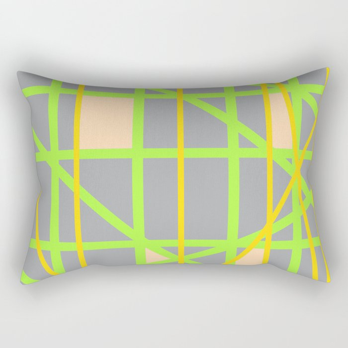 Abstract RD Rectangular Pillow