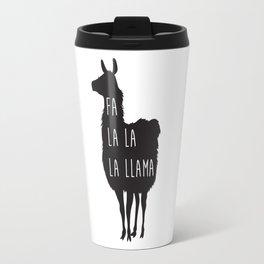 Holiday Cheer Llama Travel Mug