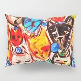 Kats on Parade Pillow Sham