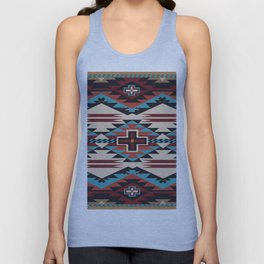 American Native Pattern No. 67 Unisex Tank Top