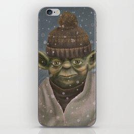 Christmas Yoda iPhone Skin