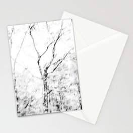 Black and white tree photography - Watercolor series #1 Stationery Cards