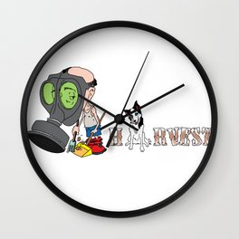 The Harvest Wall Clock