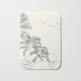 Beach Linescape Bath Mat