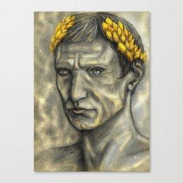 Golden Gaius Canvas Print