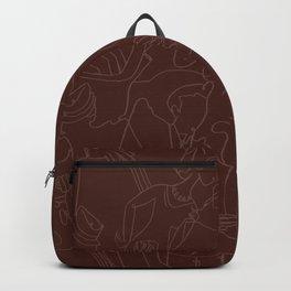 Jazz Musicians (Maroon) Backpack