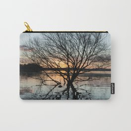 Sunset in the Los Padres lagoon. Carry-All Pouch