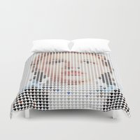 dorothy Duvet Covers featuring I Heart Dorothy Gale by Robotic Ewe