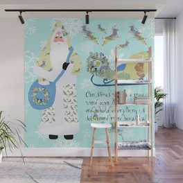 Christmas Wand Wall Mural