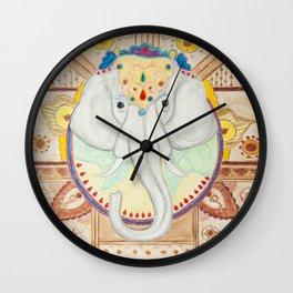 Royal Elephant Wall Clock