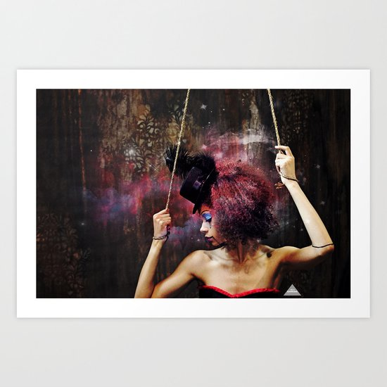 Marionette Magic 4 of 4 Art Print