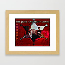 Some Candy Talking Mary Chain Framed Art Print
