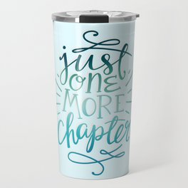 Book Worm One More Chapter Travel Mug