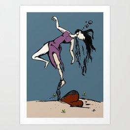 Luv Stank Art Print