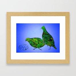 Bobwhite Quail Framed Art Print