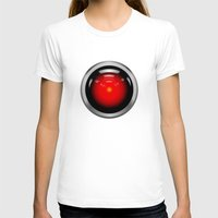 2001 a space odyssey T-shirts featuring HAL 9000 from 2001: A Space Odyssey by TOM / TOM