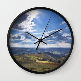 View onto Hope Valley Wall Clock