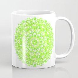 Mandala 12 / 1 eden spirit green Coffee Mug