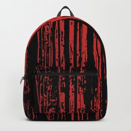Red Tree Silhouettes Backpack