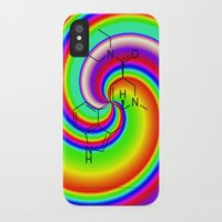 lsd iPhone & iPod Cases featuring LSD swirl by moleculestore